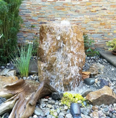 Waterfall Garden Feature Aquascape Contractor In Chester