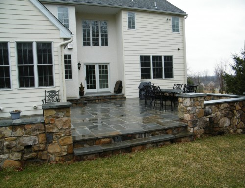 Natural Stone Patio & Walkway