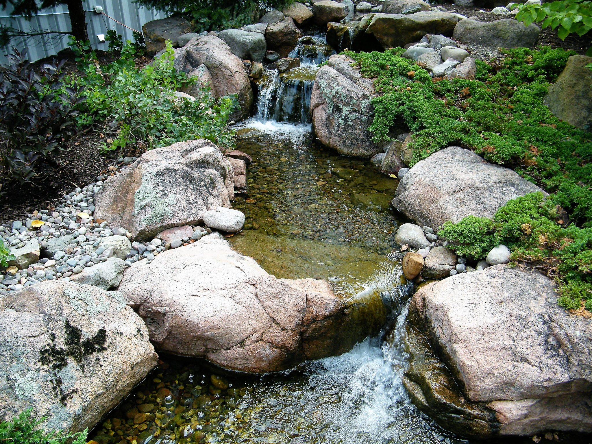 pondless waterfalls inside middle top